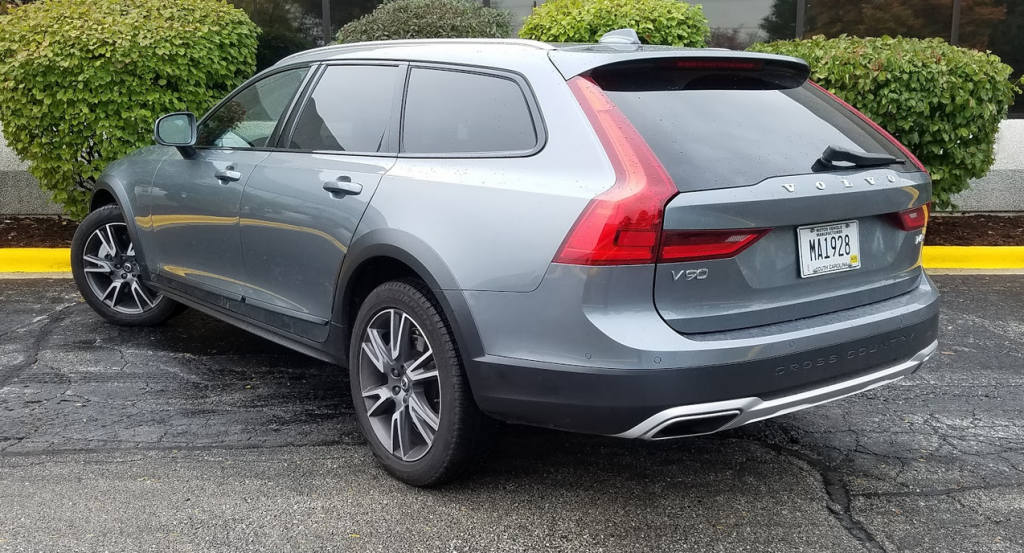 Osmium Grey V90, 2017 Volvo V90 Cross Country T6 AWD