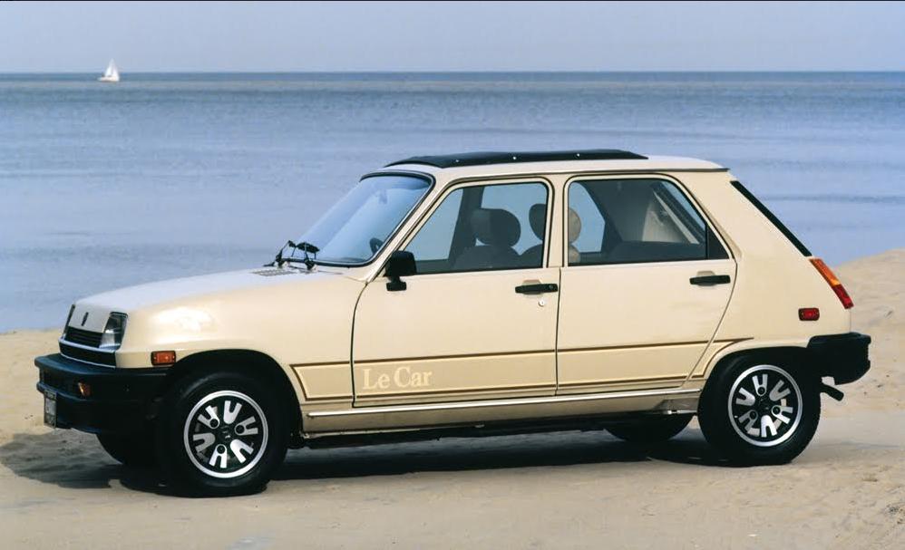 cheap wheels 1976 1983 renault 5 le car the daily drive consumer guide the daily drive. Black Bedroom Furniture Sets. Home Design Ideas