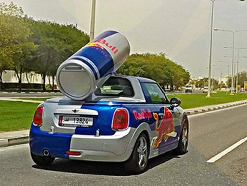 red bull promotion