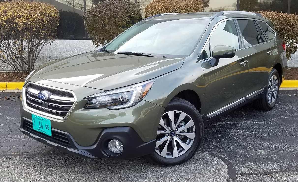 test drive 2018 subaru outback touring the daily drive consumer guide the daily drive. Black Bedroom Furniture Sets. Home Design Ideas