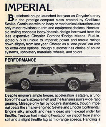 1982 Imperial Review