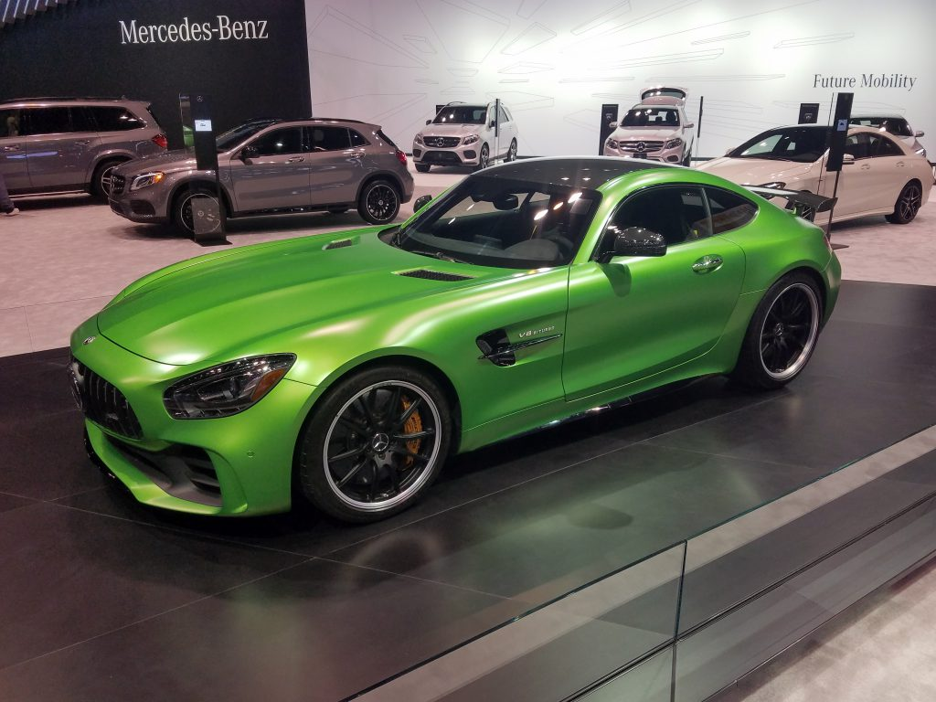 2018 Mercedes-AMG GT R in AMG Green Hell Magno