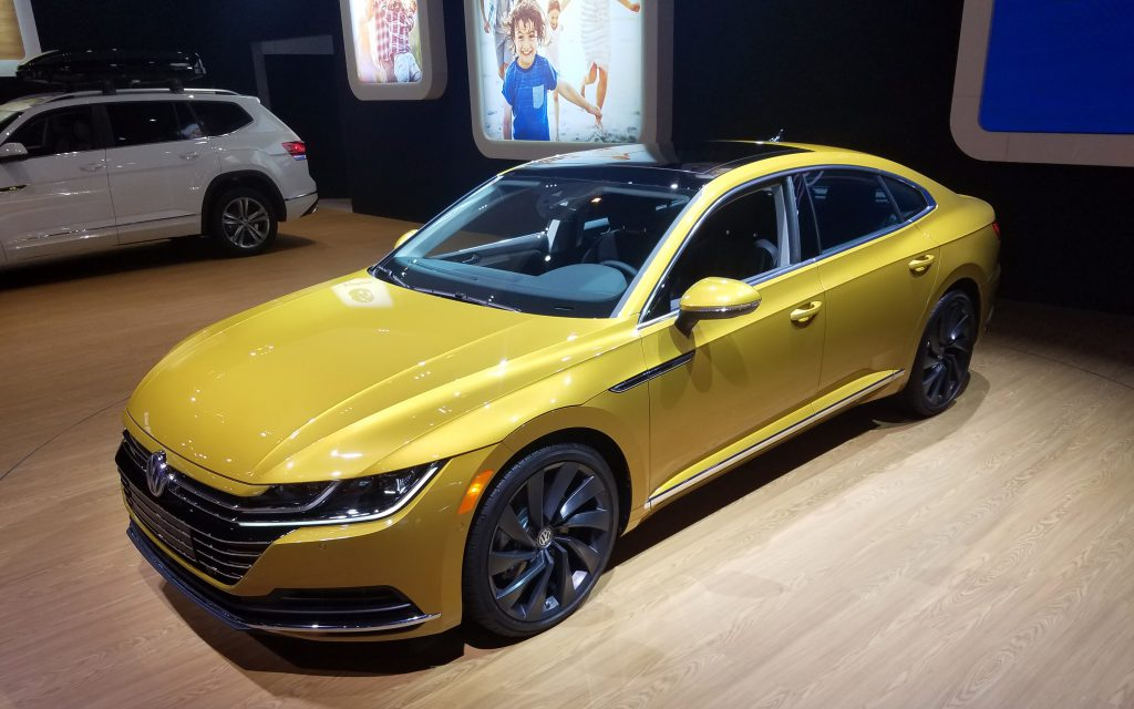 2019 Volkswagen Arteon in Tumeric Yellow
