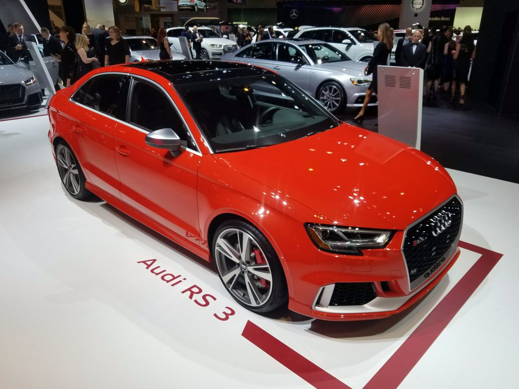2018 Audi RS3 in Catalunya Red
