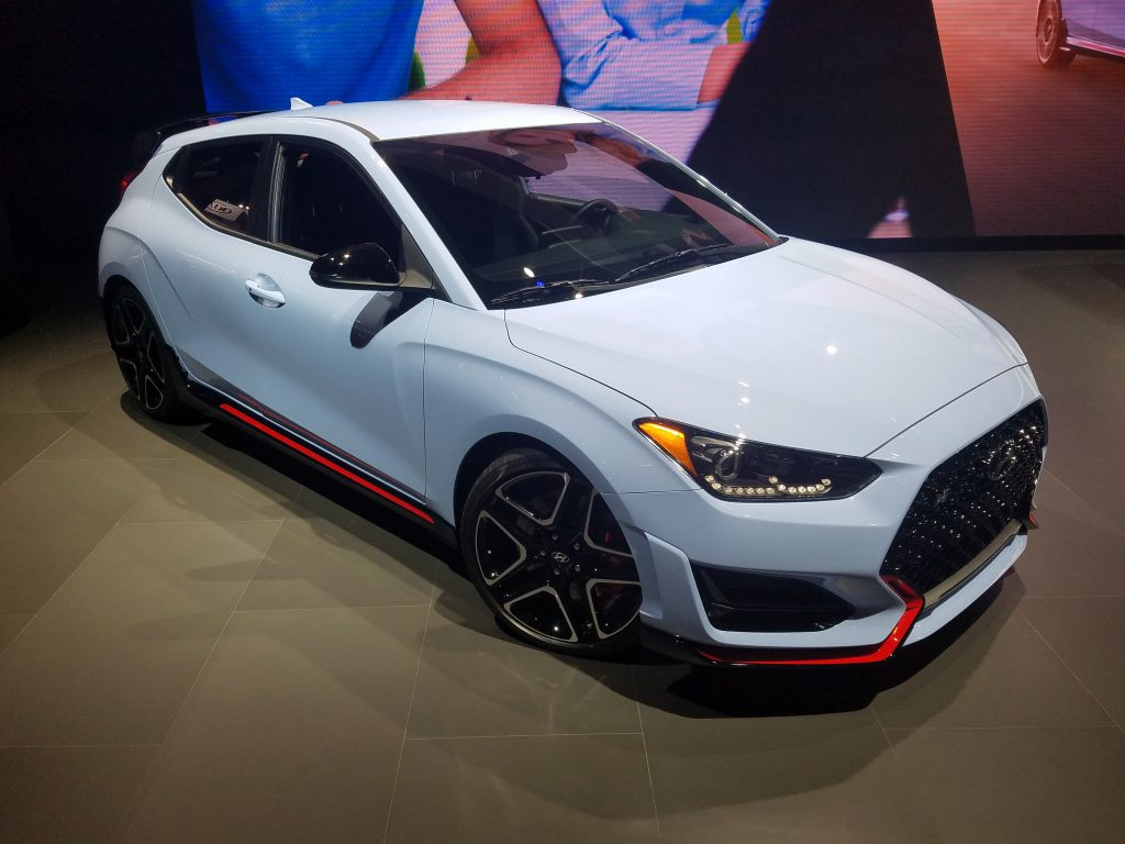 2019 Hyundai Veloster N in Performance Blue (an N exclusive color)