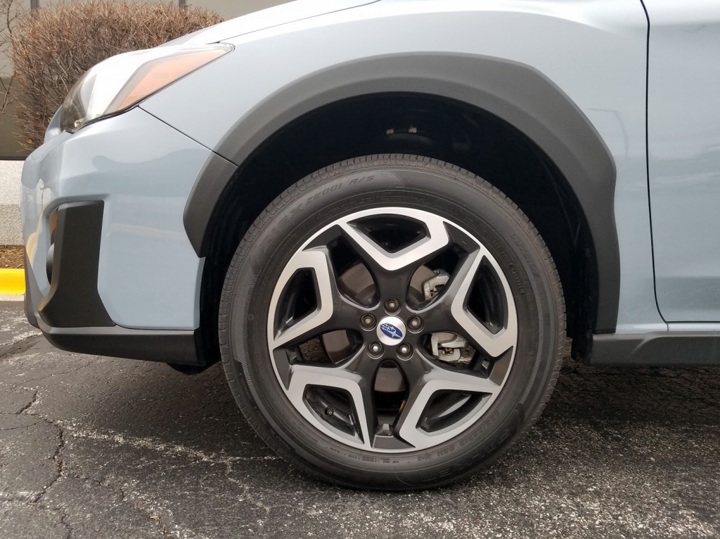 2018 Crosstrek Wheels