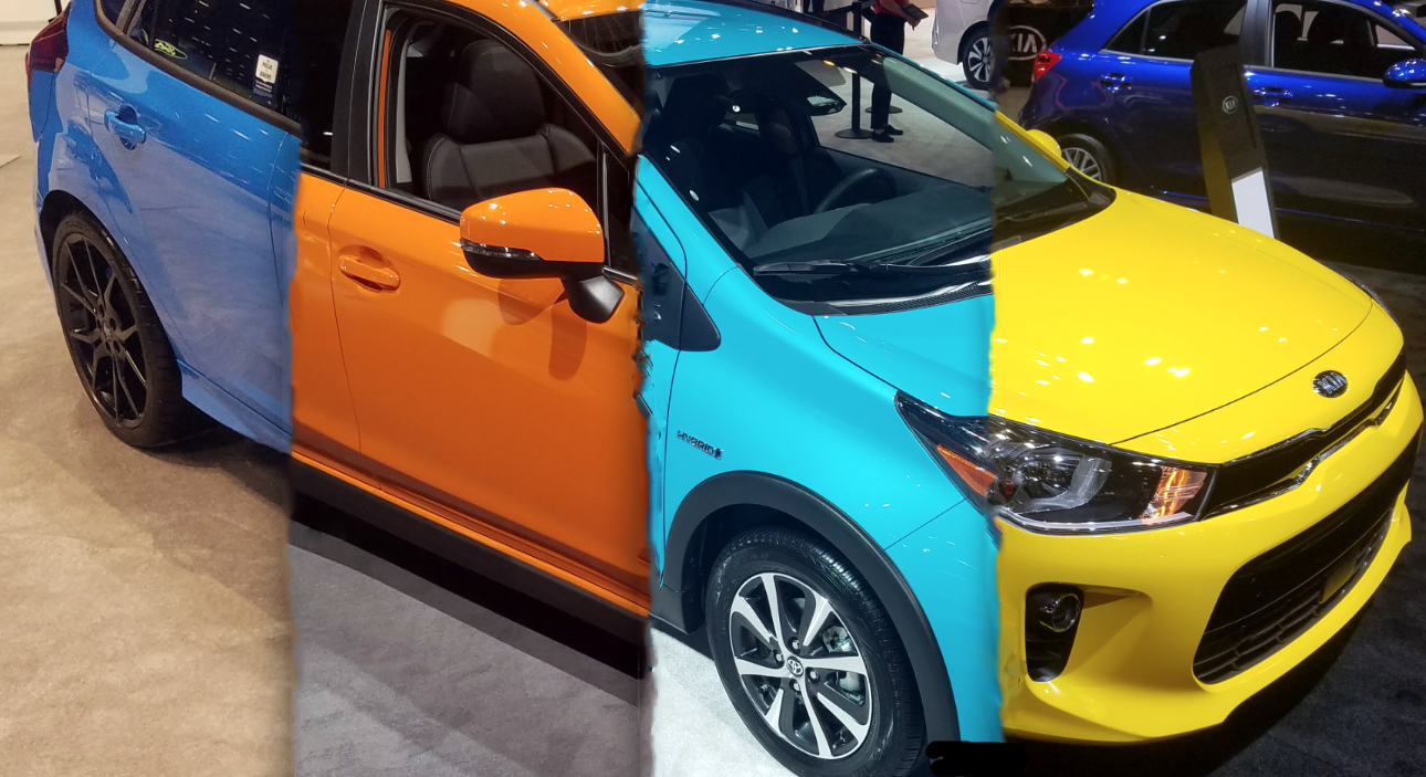 Local Color: Unusual Paint Hues at the 2018 Chicago Auto ...