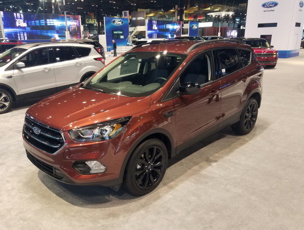 2018 Ford Escape in Cinnamon Glaze Metallic