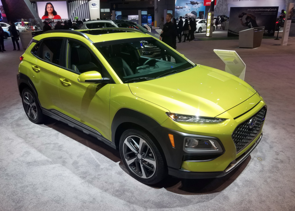 2018 Hyundai Kona in Lime Twist