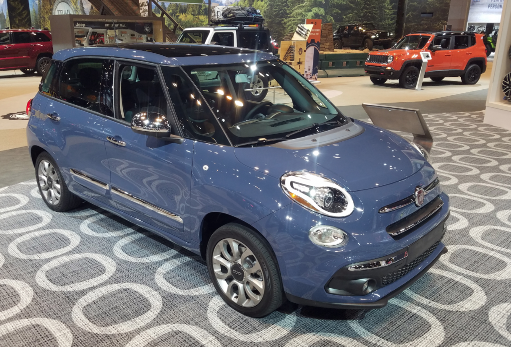 2018 Fiat 500L in Blu Denim