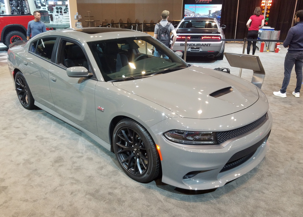 2018 Dodge Charger SRT 392 in Destroyer Grey