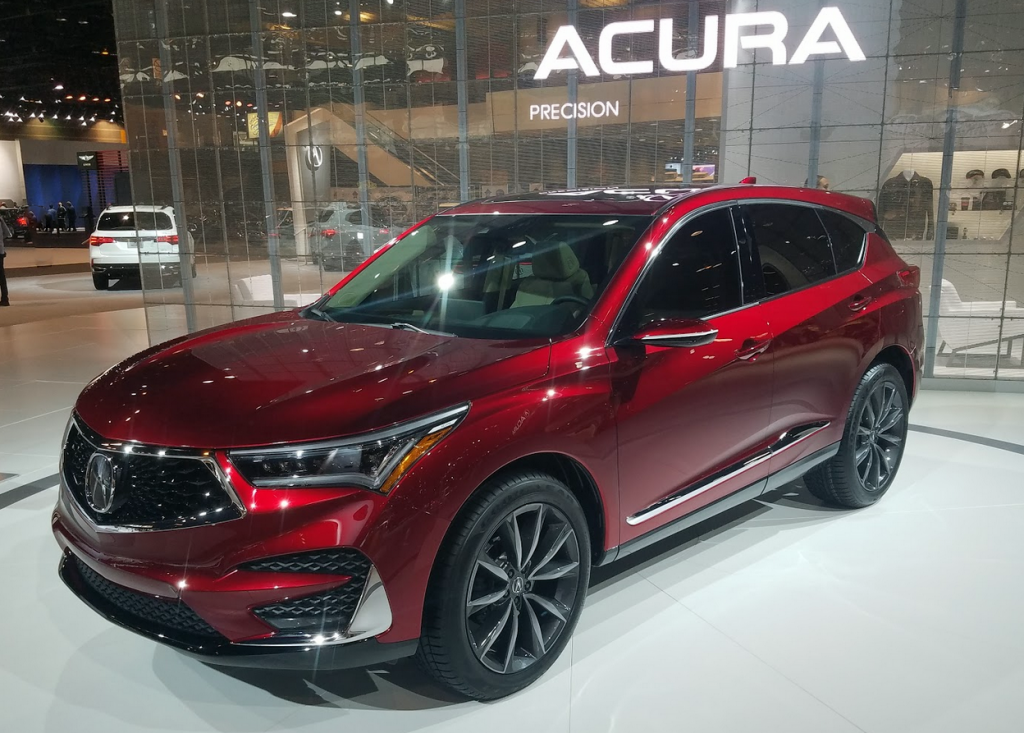 Auto Show Walk Around 2019 Acura Rdx Prototype The Daily Drive