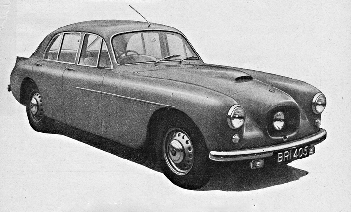 The Phantom Thread Bristol 405 Saloon