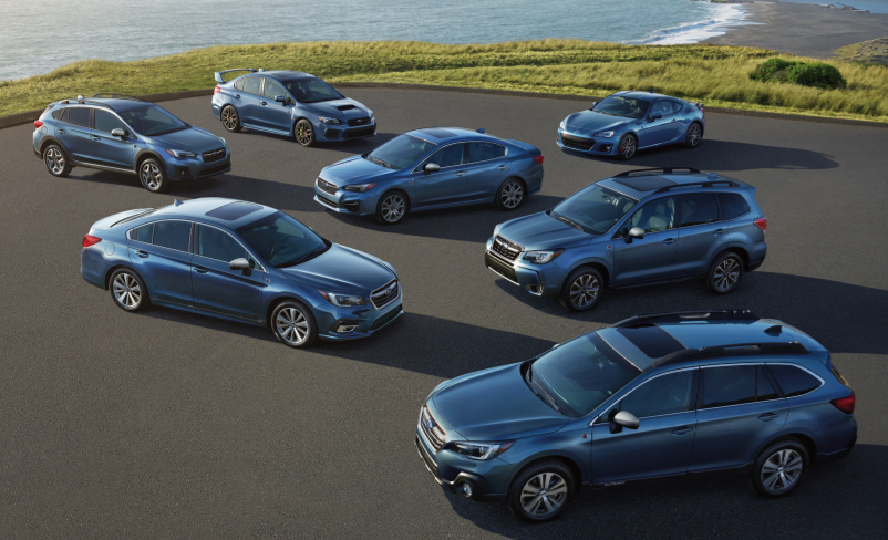 2018 Subaru 50th Anniversary Models