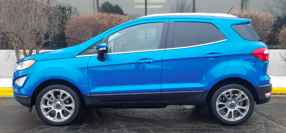 2018 Ford EcoSport Titanium FWD The Daily Drive | Consumer Guide®