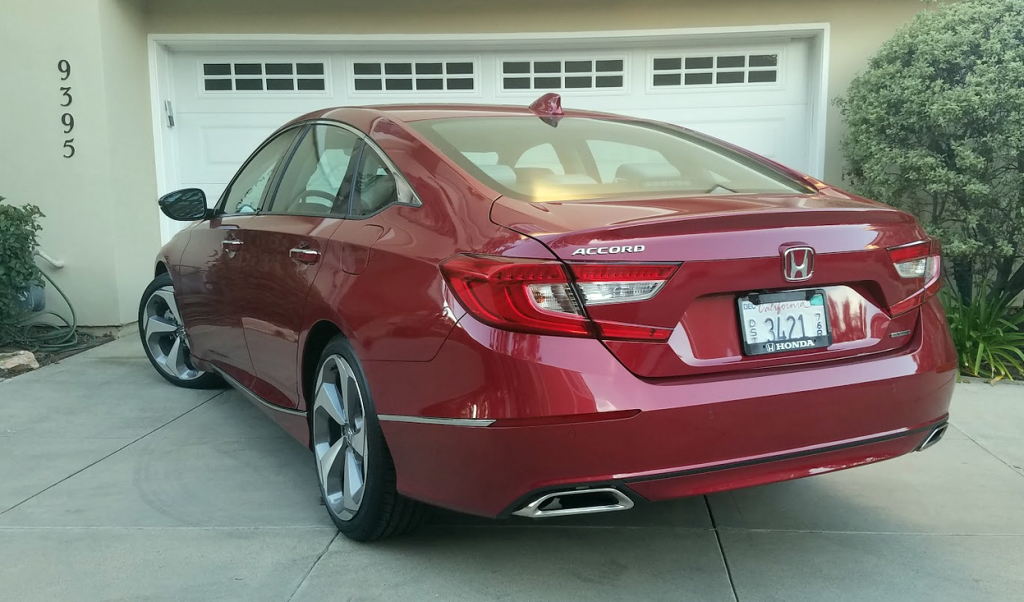 Test Drive: 2018 Honda Accord Touring 1.5T | The Daily ...