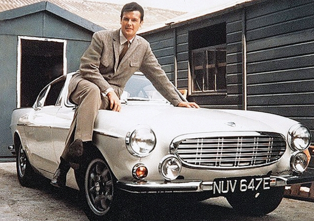 Simon Templar and Volvo P1800, What did The Saint Drive?