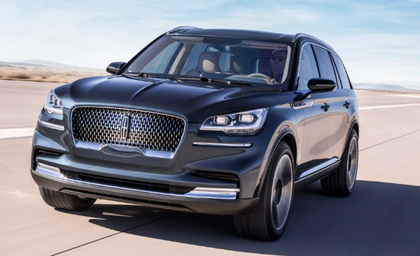 2018 New York Auto Show Lincoln Aviator Concept The Daily Drive