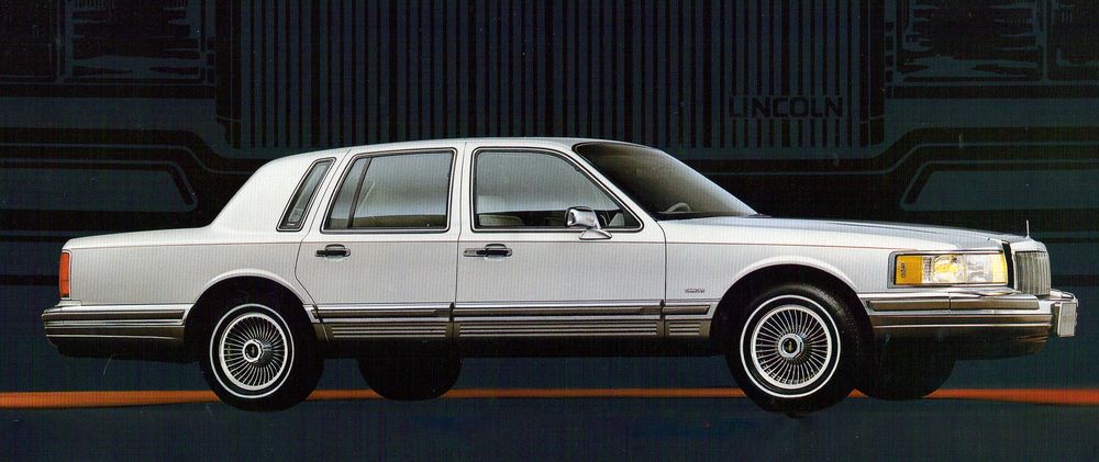 1990 Lincoln Town Car Signature Series
