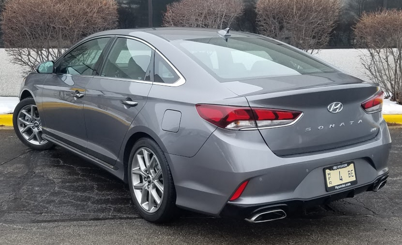 2018 Hyundai Sonata Limited 2 0t The Daily Drive Consumer Guide
