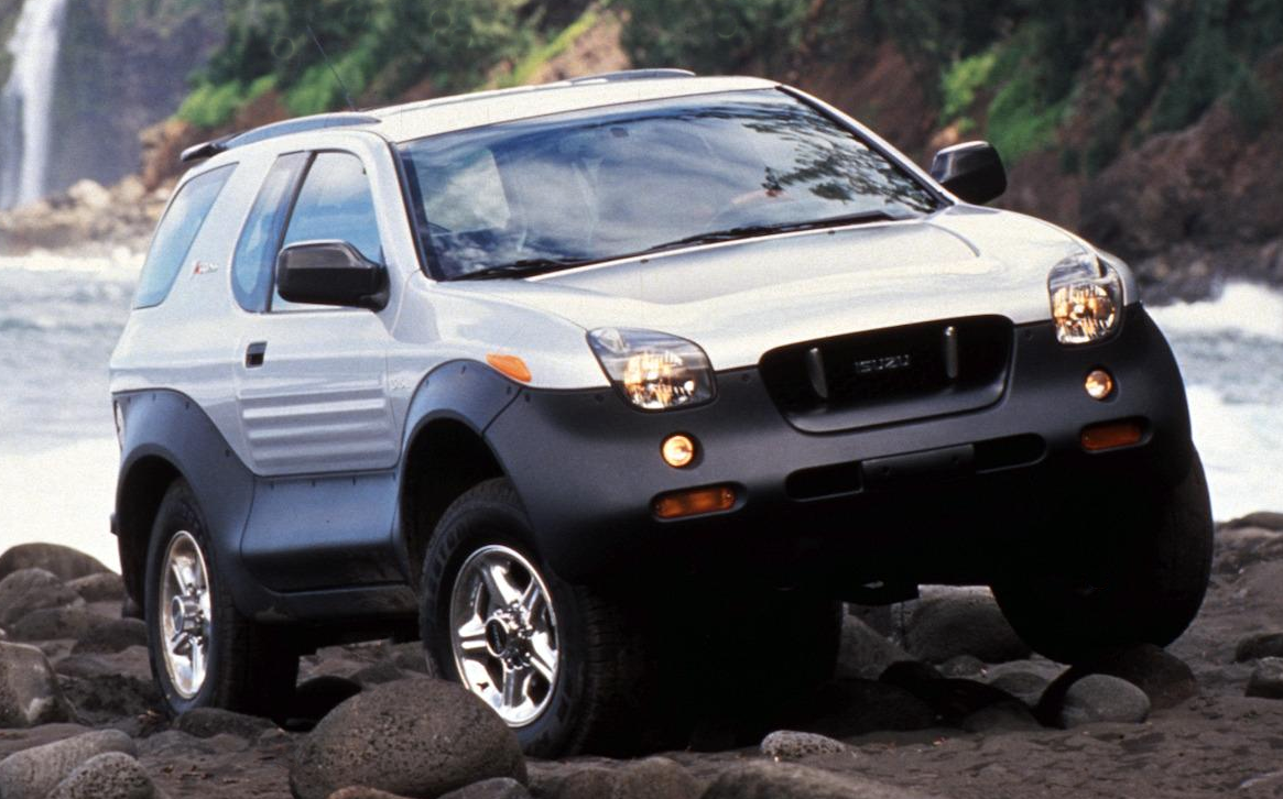 Review Flashback 2001 Isuzu Vehicross The Daily Drive