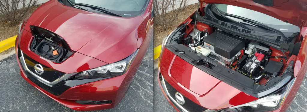 2018 Nissan Leaf SL Charge Port