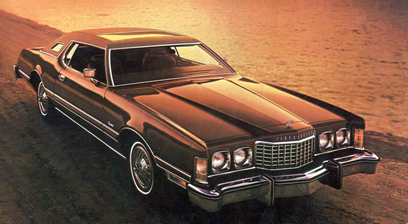 1976 Ford Thunderbird, Most-Expensive Coupes of 1976