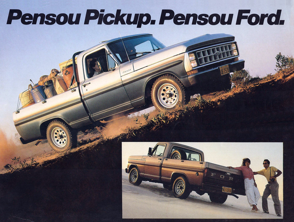 1987 Ford F-1000