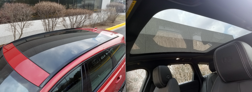 Jaguar Sportbrake Sunroof