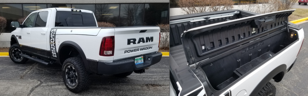 Power Wagon Ram Box