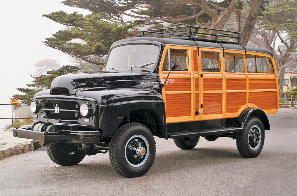 1954 International Model R-140 Station Wagon