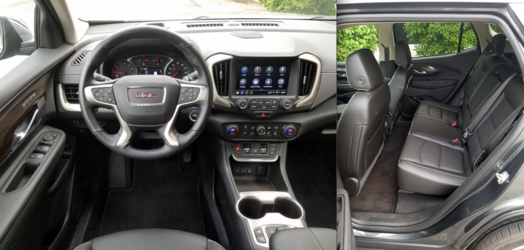 2018 GMC Terrain Denali in Graphite Gray