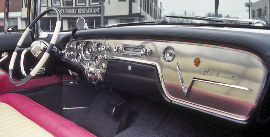 1955 Packard Dashboard