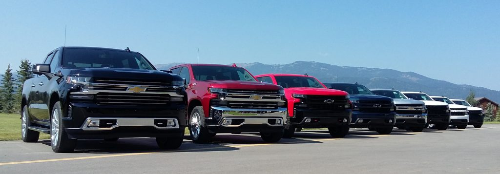 2019 Chevrolet Silverado trim levels