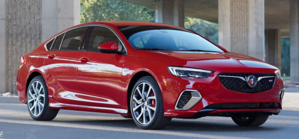 Last V6 Midsize Sedans, 2018 Buick Regal GS