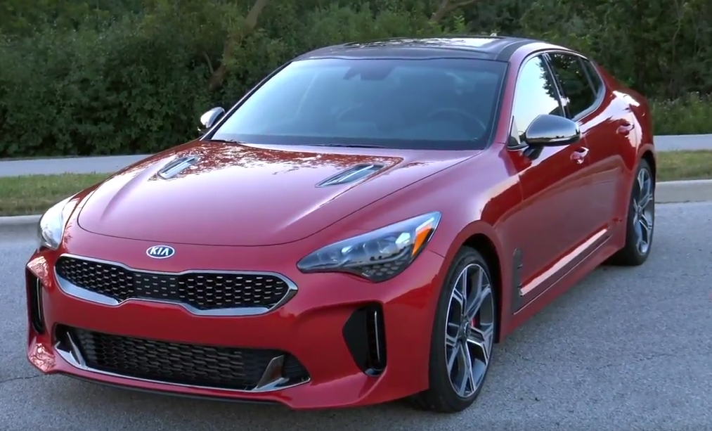 Kia Stinger HiChroma Red, Steve and Johnnie Kia Stinger