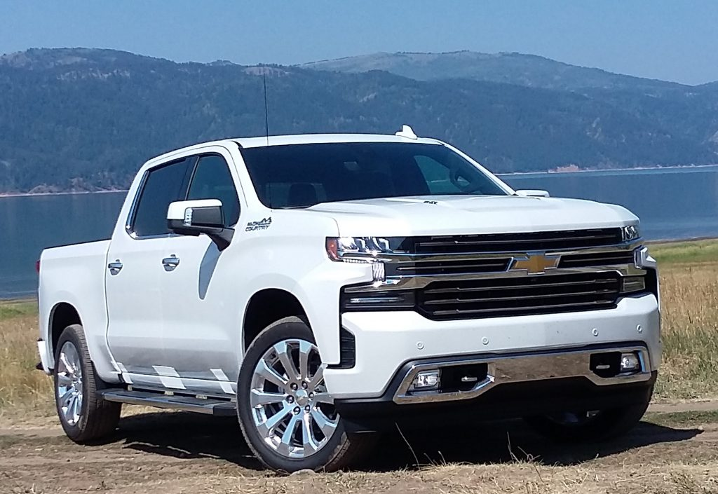 2019 Chevrolet Silverado High Country front