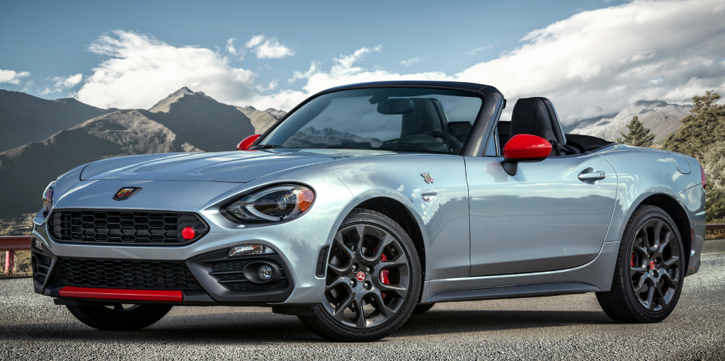 2019 Fiat 124 Abarth front