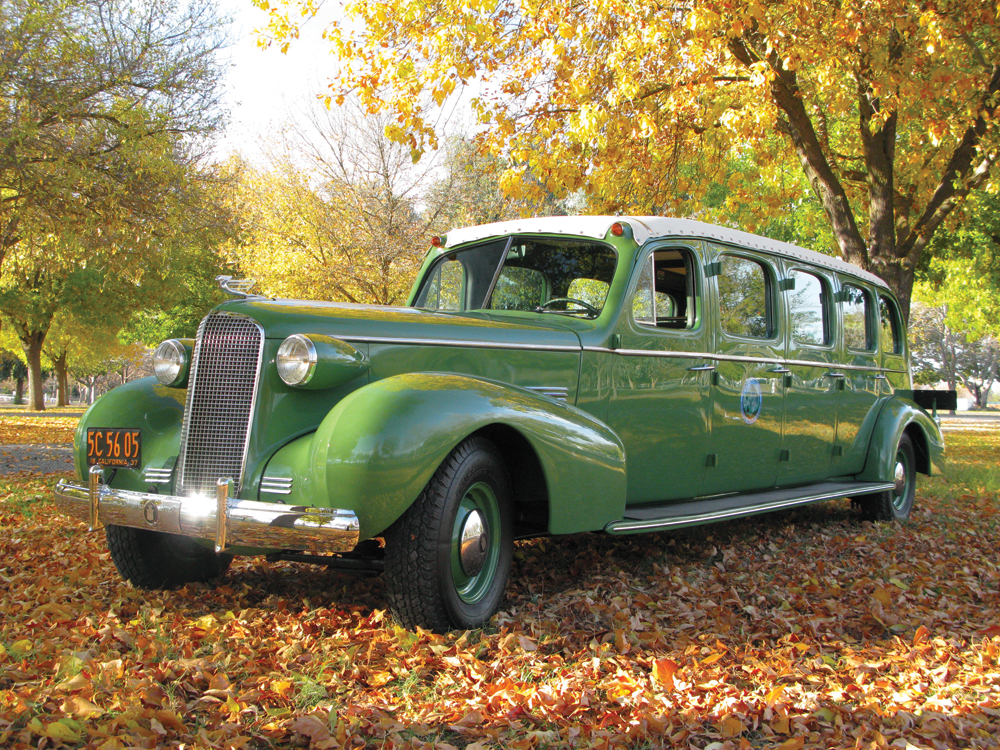 1937 Cadillac Series 75 Tour Bus