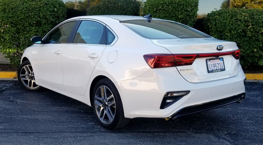 2019 Kia Forte EX in Snow Pearl White, a $295 color option
