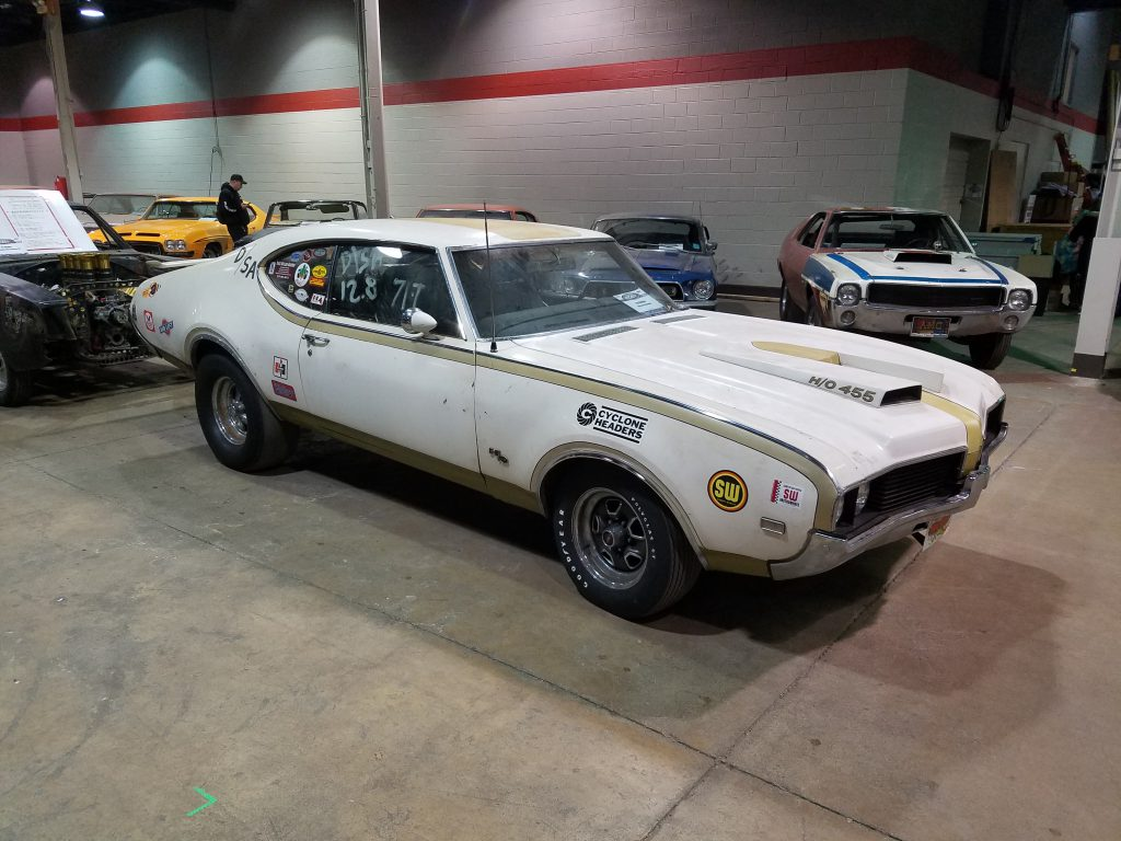 1969 Hurst/Olds drag car