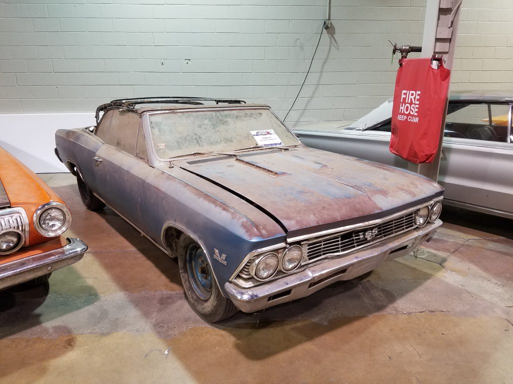 1966 Chevrolet Chevelle L78 SS396 convertible
