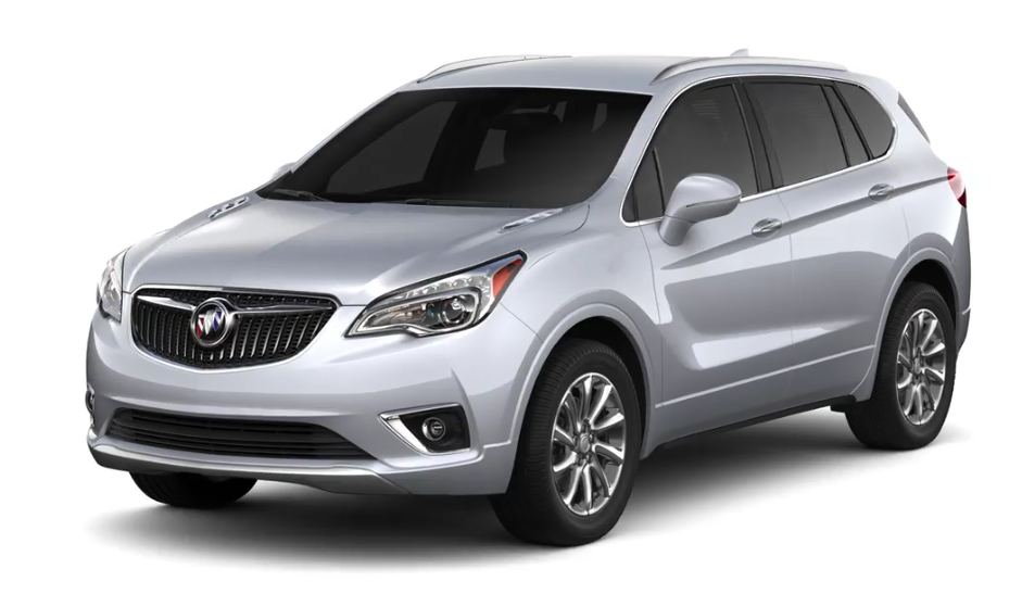 2019 Buick Envision in Galaxy Silver