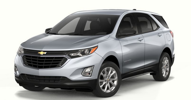 Chevrolet Equinox in Silver Ice