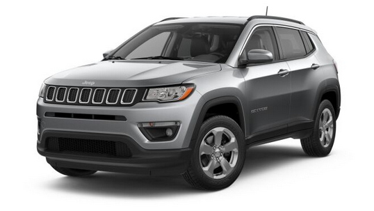 2019 Jeep Compass in Billet Silver