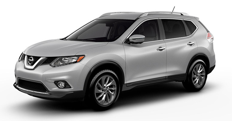 2019 Nissan Rogue in Brilliant Silver