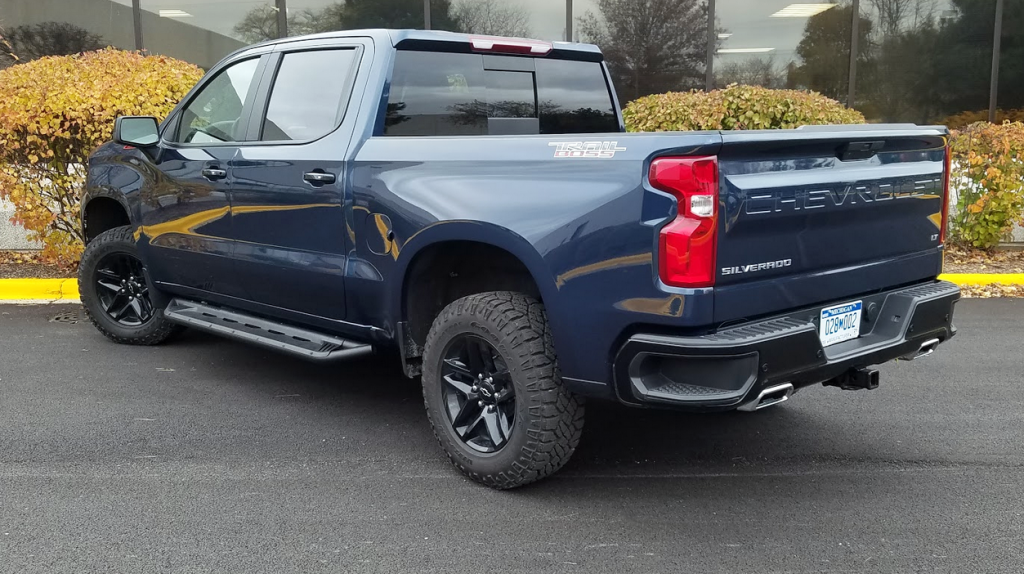Test Drive 2019 Chevrolet Silverado Lt Trail Boss The