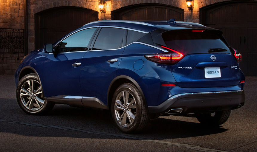 2018 Los Angeles Auto Show: 2019 Nissan Murano | The Daily ...