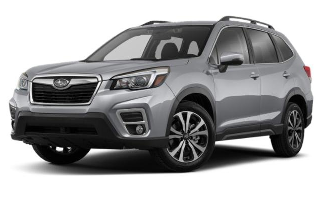 2019 Subaru Forester in Ice Silver