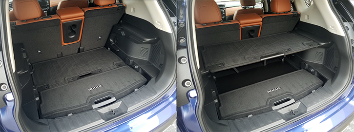 Rear Storage Tray